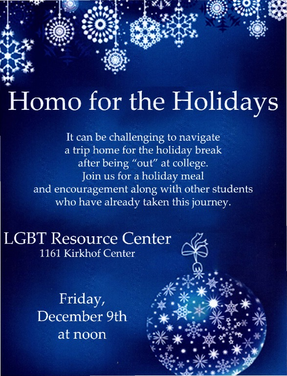 Go to Homo for the Holidays item page