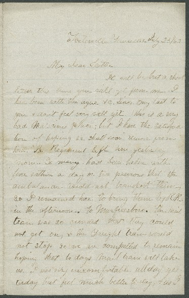 Go to John Bennitt to his wife [Letter 082] item page