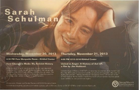 Go to Sarah Schulman item page