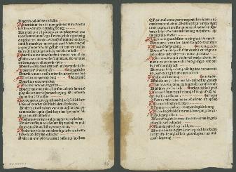 Go to Vocabularius praedicantium, sive Variloquus [Latin and German] [folium 126] item page