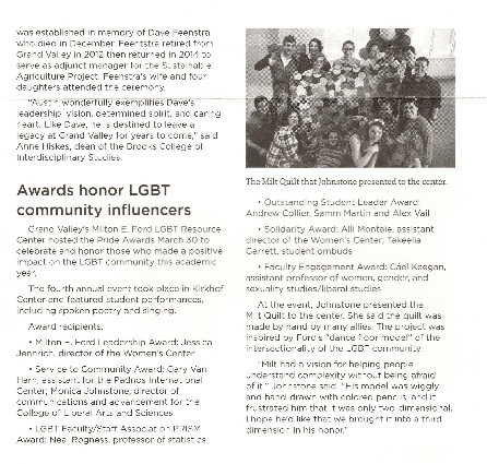 Go to Awards honor LGBT community influencers item page