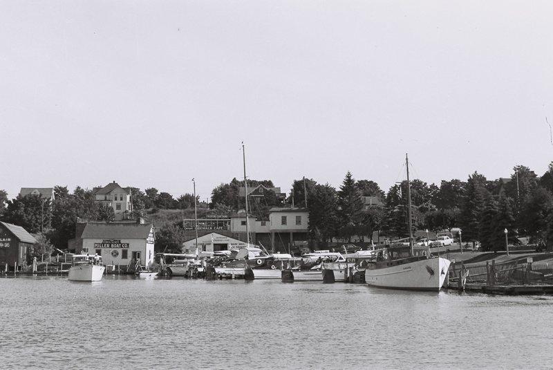 Michigan. Round Lake Harbor in Charlevoix