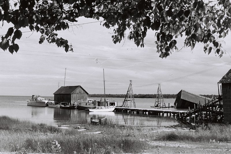 Go to Michigan. Gallagher's Dock on Beaver Island item page
