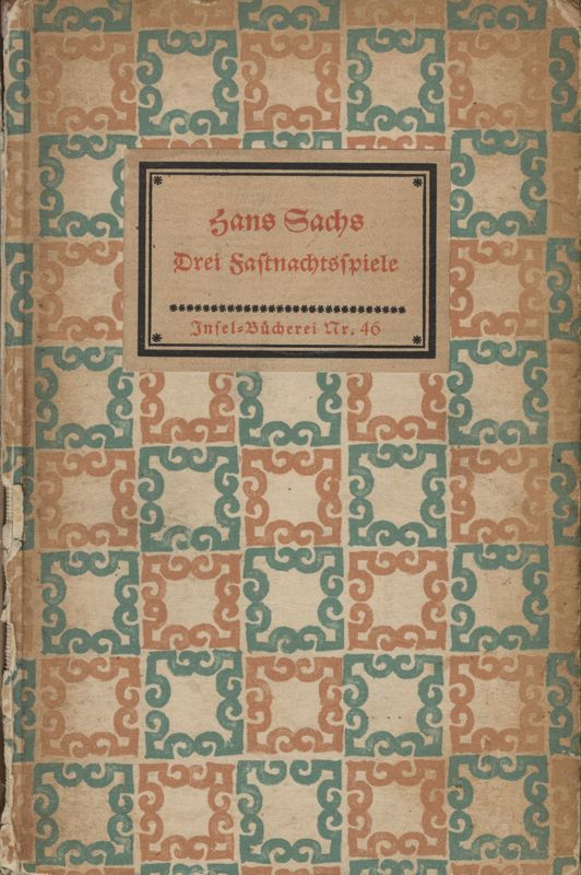 Go to Drei Fastnachtspiele item page