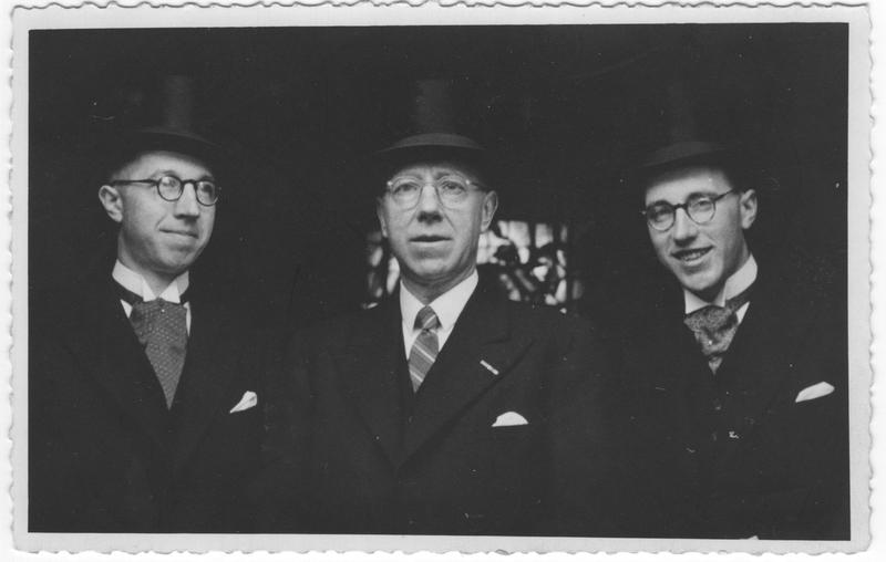 Go to Termaat men in top hats, 1944 item page
