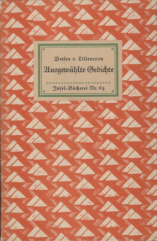 Go to Ausgewählte Gedichte item page