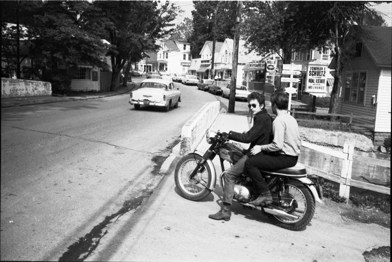 Go to Bob Dylan and John Sebastian on Triumph motorcycle item page