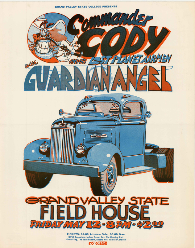 Go to Commander Cody and His Lost Planet Airmen with Guardian Angel, May 12, 1972  item page