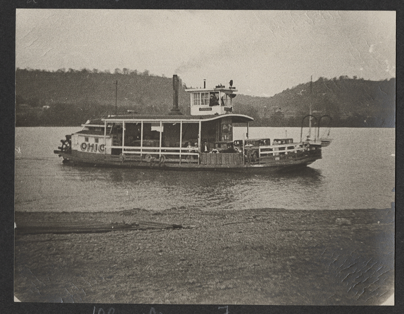 Go to Tennessee. Ferry on Ohio River item page
