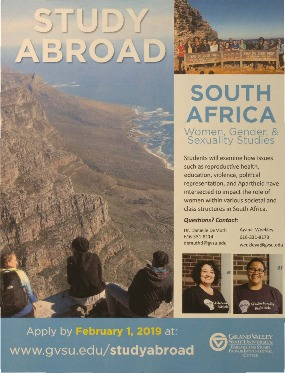 Go to Women, Gender & Sexuality Studies and the Women's Center in South Africa item page