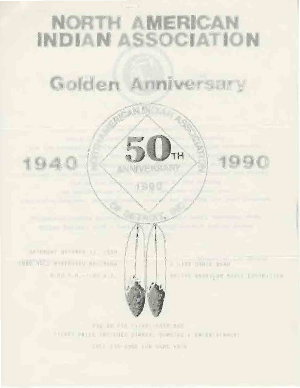 Go to North American Indian Association Golden Anniversary item page