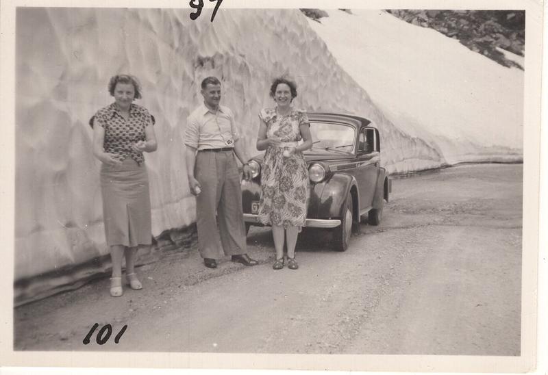 Go to Adriana B. Termaat in St. Gotthard Pass, Switzerland, 1951 item page