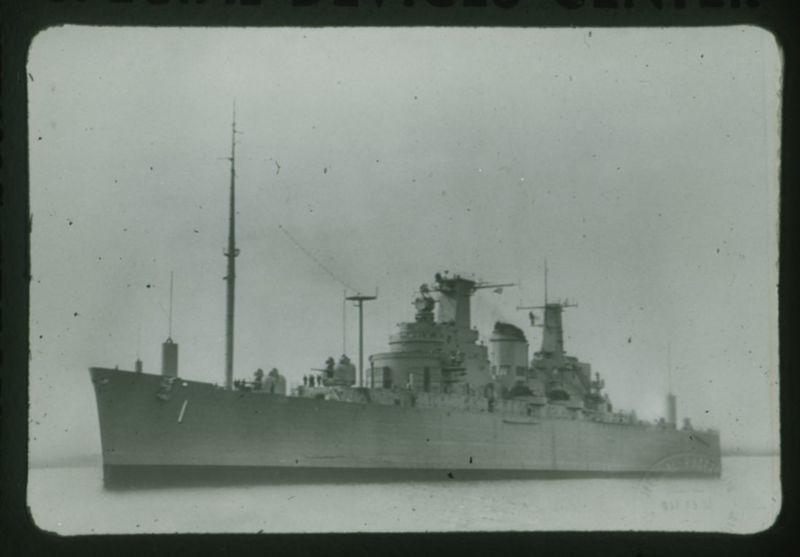 Go to Northampton, command light cruiser item page