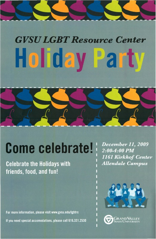 Go to GVSU LGBT Resource Center Holiday Party item page