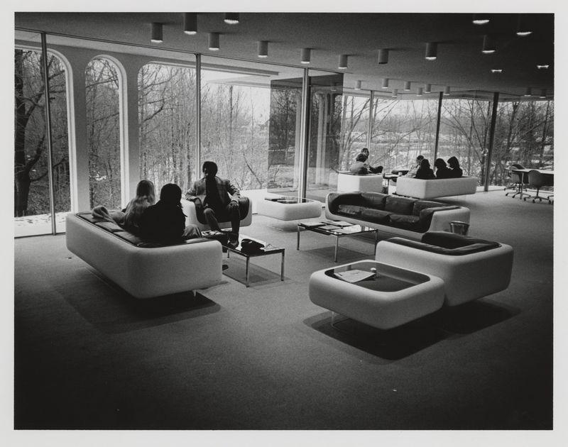 Seidman House. Student study lounge