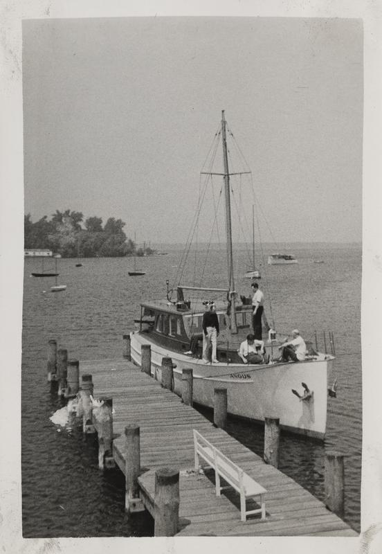 Go to Michigan. The Angus docked in Muskegon item page