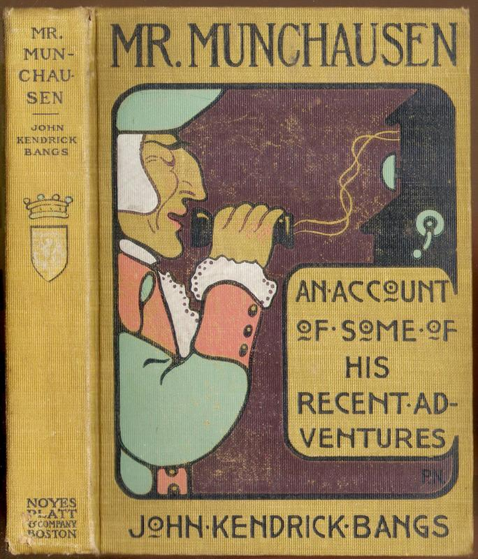 Go to Mr. Munchausen: Being a True Account of Some of the Recent Adventures  item page