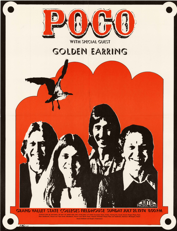 Go to Poco with Golden Earring, July 21, 1974 item page