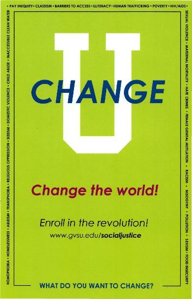 Go to Change U: Change the World item page
