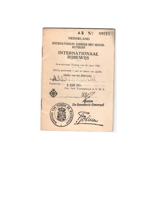 Go to Pieter Termaat International Drivers License item page