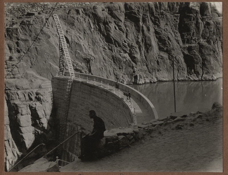 Go to Wyoming. Shoshone Dam near Yellowstone Park item page