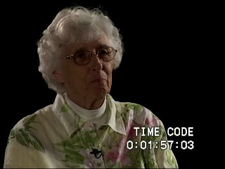Go to Burkovich, Shirley (Interview transcript and video), 2009   item page