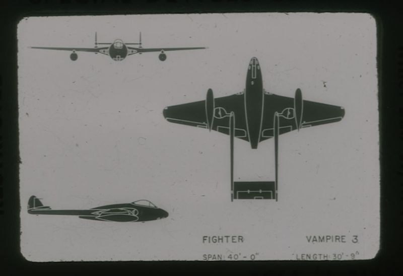 Go to Vampire Mk 3 British RAF fighter item page