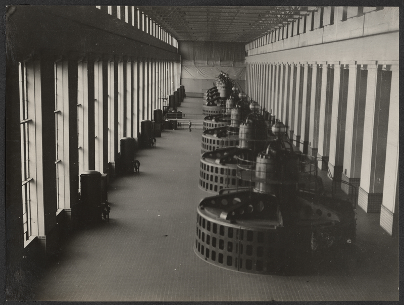 Go to Alabama. Interior of Wilson Dam at Muscle Shoals item page