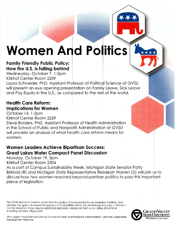 Go to Women and Politics item page