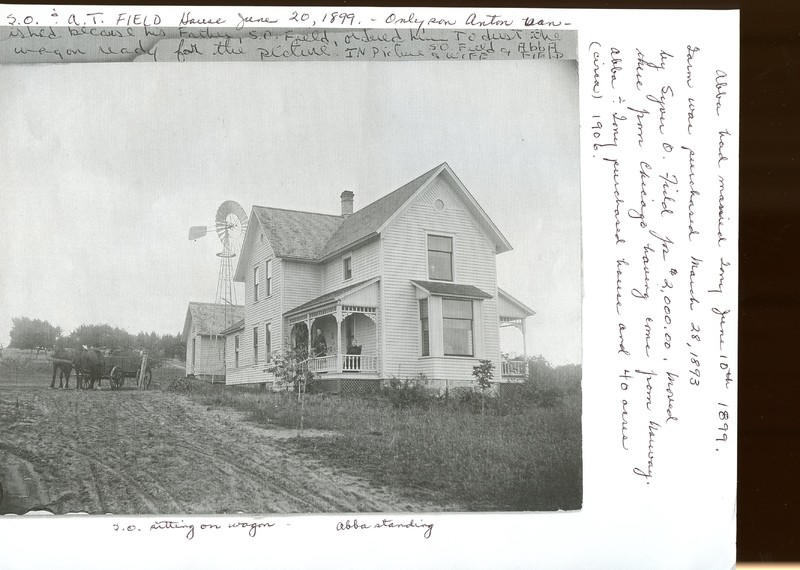 Field Family Farmhouse, Shelby, Michigan, circa 1900