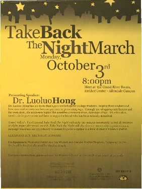 Go to Take Back the Night March item page