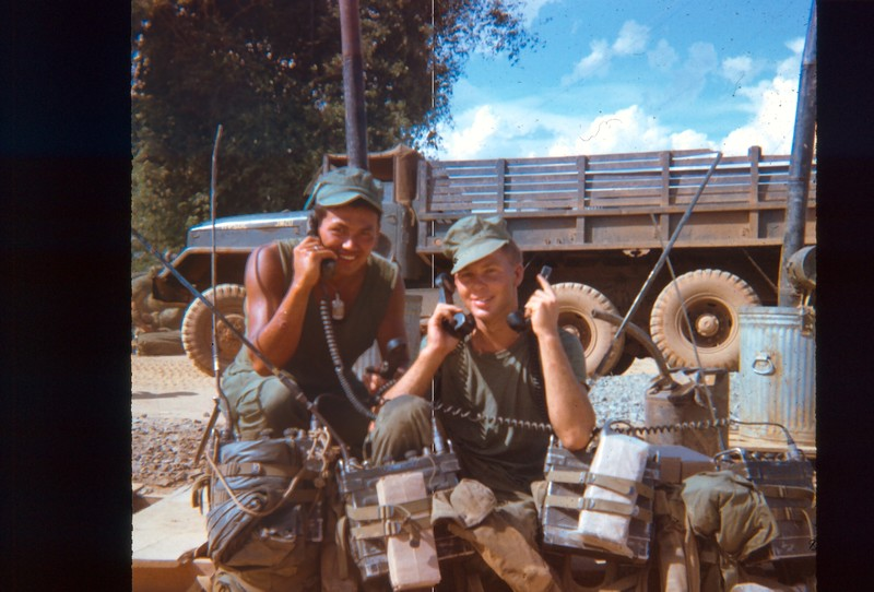 Go to Oakes and LCPL Lamphere with the platoon radios just before Oakes began working with the company item page
