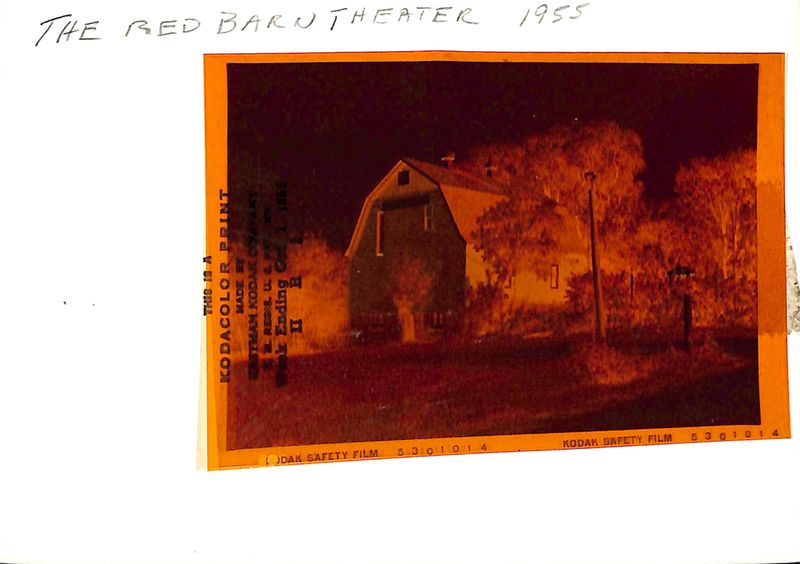 Go to Kodacolor Print Red Barn Theatre item page