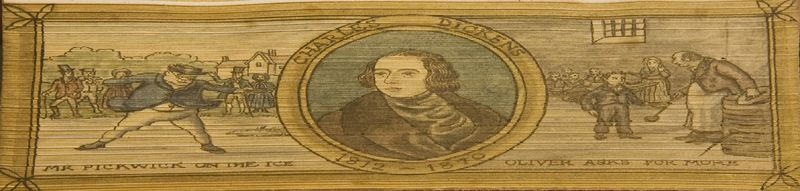 Go to Portrait of Charles Dickens as a Young Man with Vignettes from Novels item page