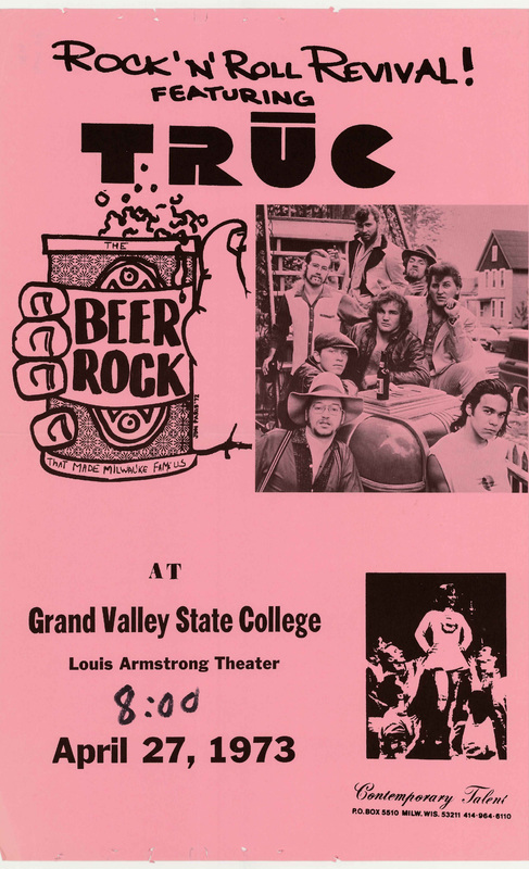 Go to Rock'n'roll revival featuring Truc, April 27, 1973 item page