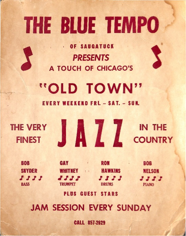 """Go to The Blue Tempo Presents """"Old Town"""" item page"""