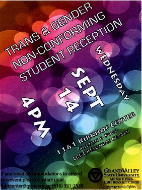 Go to Trans & Gender Non-Conforming Student Reception item page