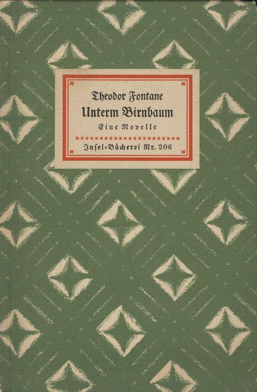 Go to Unterm Birnbaum: eine Novelle item page