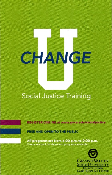 Go to Change U: Social Justice Training item page