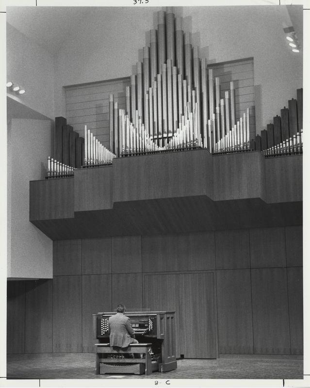 Cook-DeWitt Center. Reuter pipe organ