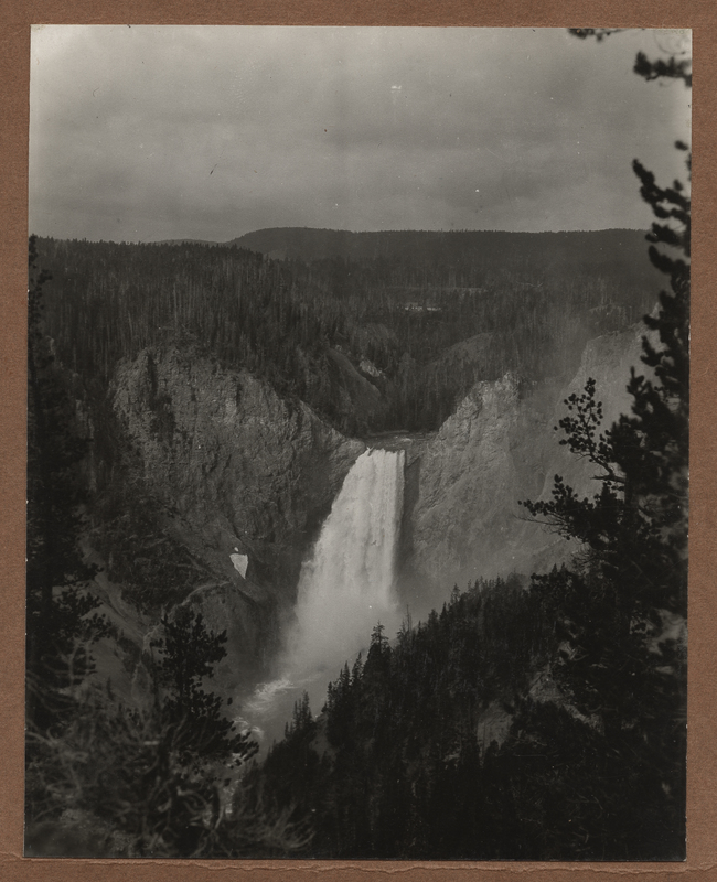 Go to Wyoming. Lower Falls of the Yellowstone item page