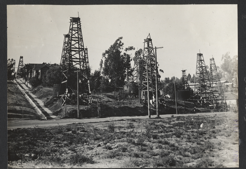 Go to California. Oil wells in Los Angeles item page
