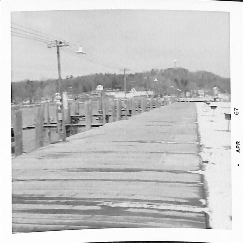 Go to Boardwalk in black & white item page