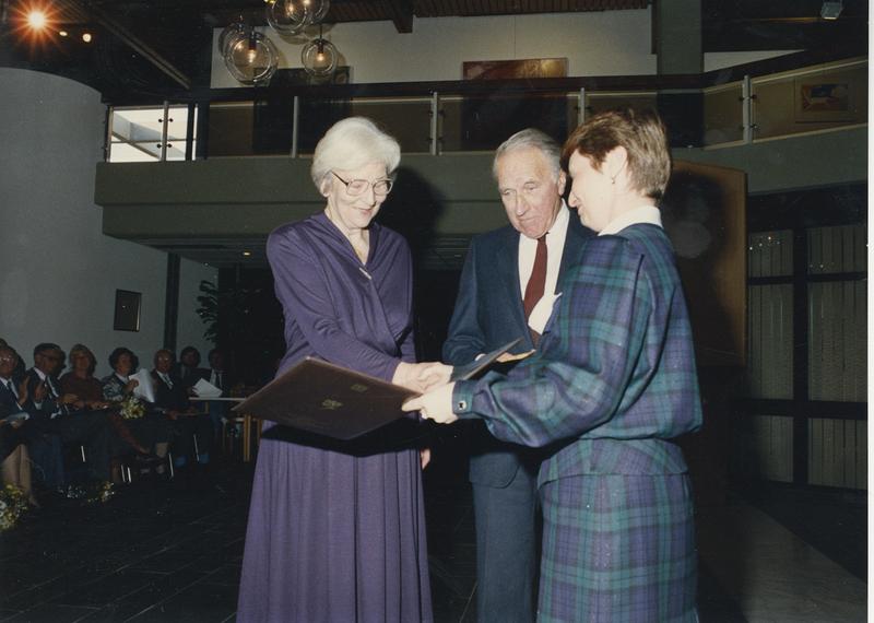 Go to Yad Vashem ceremony at Israeli Embassy, 1990 item page