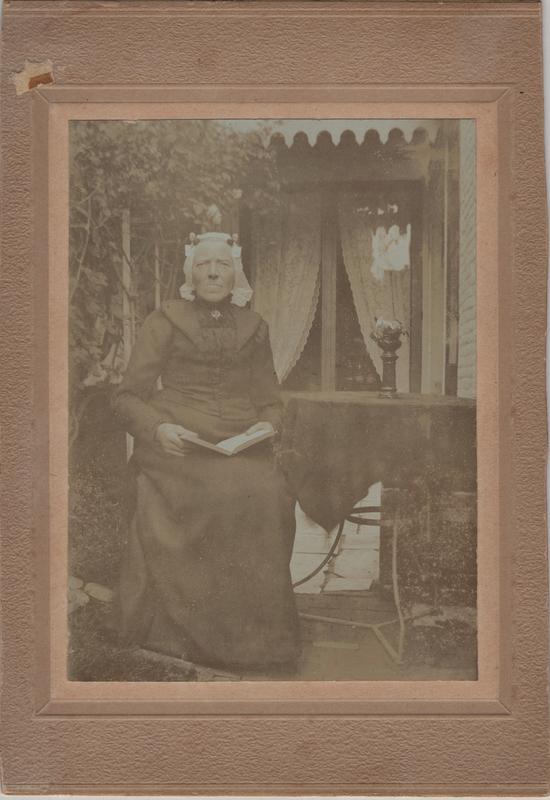 Neeltje DeJong (1847-1930), circa 1908
