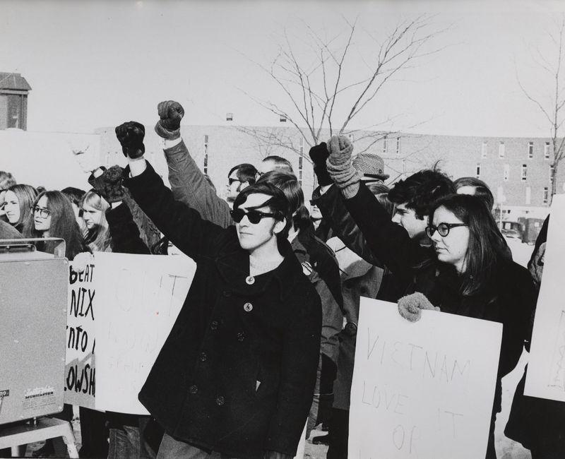 Go to  Anti-Vietnam War demonstrators item page