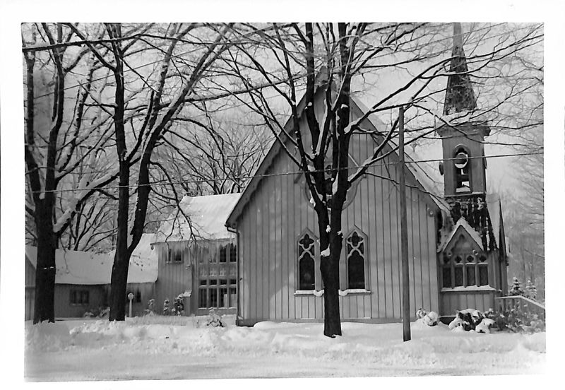 Go to All Saints Episcopal Church in Winter item page