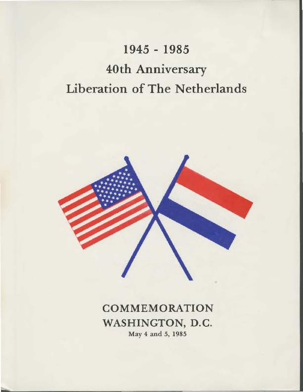 Go to Liberation of the Netherlands, 40th Anniversary Commemoration item page