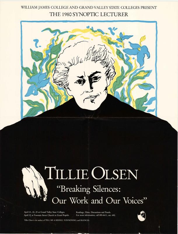 Go to Tillie Olsen, April 22-23, 1980 item page