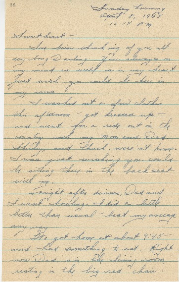 "Go to Letter to Edward ""Ned"" Manley by Jean Worthington, April 08, 1945. item page"